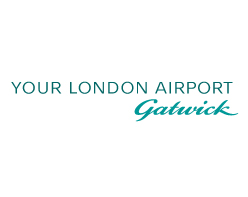 Your London Airport Gatwick logo on white background