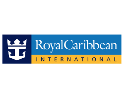 Royal Caribbean International Logo on white background
