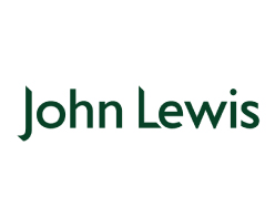 John Lewis logo on white background