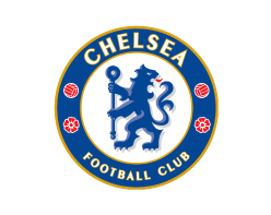 Chelsea Football Club logo on white background
