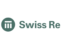 Swiss Re logo on white background