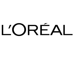 L'Oréal logo on white background L'Oreal