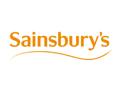 Sainsbury's Logo on white background