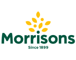 Morrisons Logo Since 1899 on white background