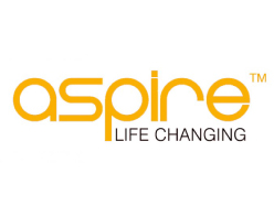 Aspire Logo Life Changing on white background